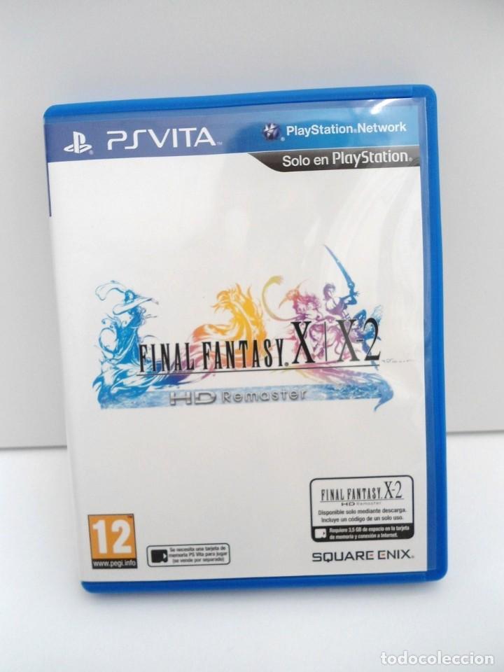 Videojuegos y Consolas PS Vita: FINAL FANTASY X / X2 HD REMASTER - PS VITA PSVITA - EXCELENTE ESTADO - Foto 2 - 219216703