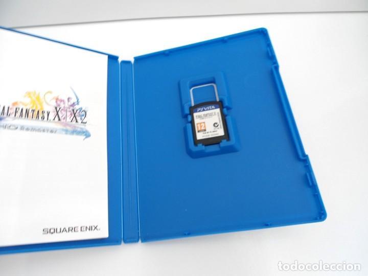 Videojuegos y Consolas PS Vita: FINAL FANTASY X / X2 HD REMASTER - PS VITA PSVITA - EXCELENTE ESTADO - Foto 3 - 219216703