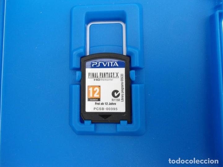 Videojuegos y Consolas PS Vita: FINAL FANTASY X / X2 HD REMASTER - PS VITA PSVITA - EXCELENTE ESTADO - Foto 4 - 219216703