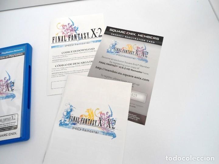 Videojuegos y Consolas PS Vita: FINAL FANTASY X / X2 HD REMASTER - PS VITA PSVITA - EXCELENTE ESTADO - Foto 5 - 219216703