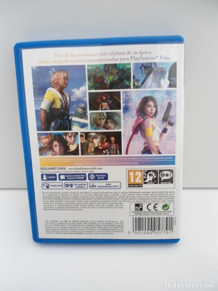 Videojuegos y Consolas PS Vita: FINAL FANTASY X / X2 HD REMASTER - PS VITA PSVITA - EXCELENTE ESTADO - Foto 6 - 219216703