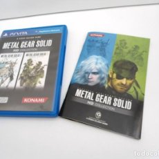 Videogiochi e Consoli: METAL GEAR SOLID HD COLLECTION - PS VITA PSVITA - EXCELENTE ESTADO. Lote 219218407