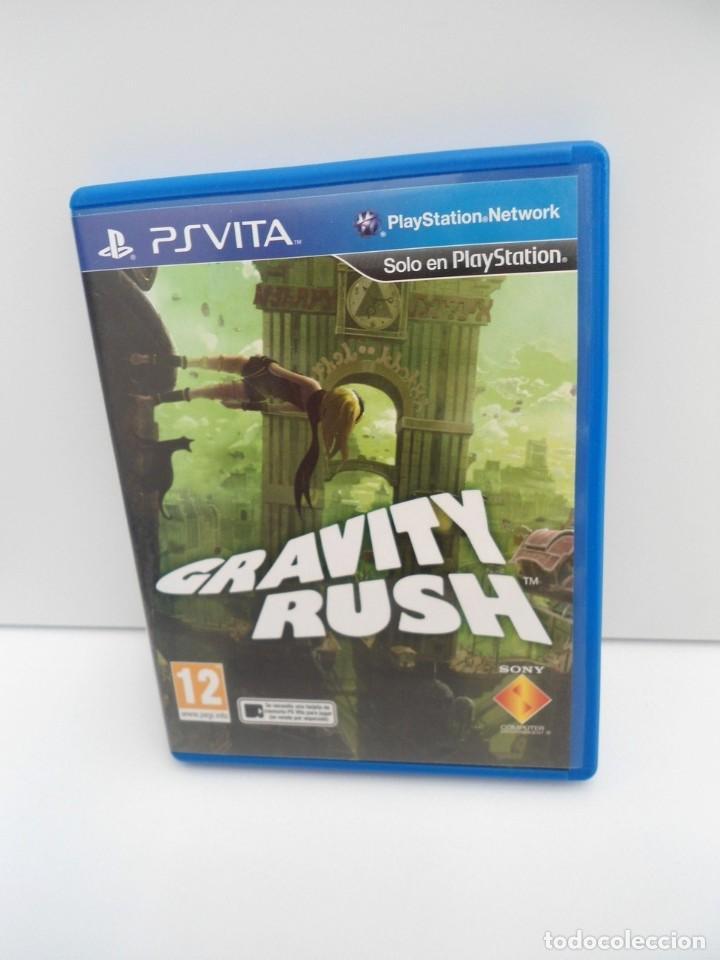 GRAVITY RUSH - PS VITA PSVITA - EXCELENTE ESTADO (Juguetes - Videojuegos y Consolas - Sony - PS Vita)