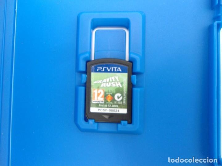 Videojuegos y Consolas PS Vita: GRAVITY RUSH - PS VITA PSVITA - EXCELENTE ESTADO - Foto 3 - 219218885
