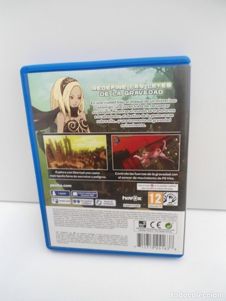 Videojuegos y Consolas PS Vita: GRAVITY RUSH - PS VITA PSVITA - EXCELENTE ESTADO - Foto 4 - 219218885
