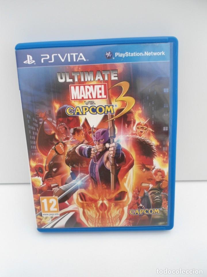 ULTIMATE MARVEL VS CAPCOM 3 - PS VITA PSVITA - EXCELENTE ESTADO (Juguetes - Videojuegos y Consolas - Sony - PS Vita)