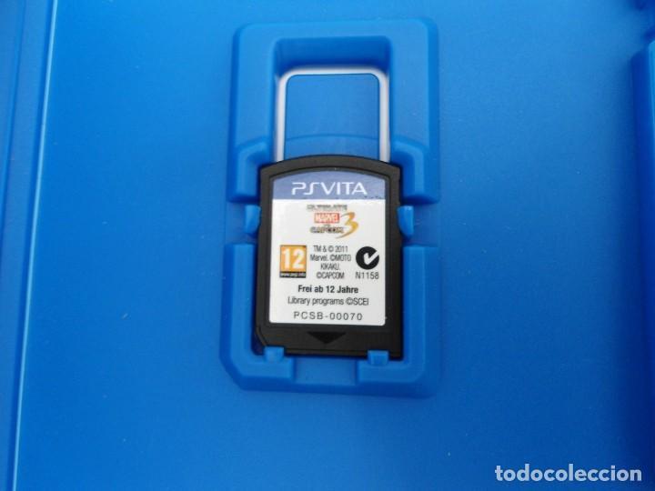 Videojuegos y Consolas PS Vita: ULTIMATE MARVEL VS CAPCOM 3 - PS VITA PSVITA - EXCELENTE ESTADO - Foto 3 - 219219387