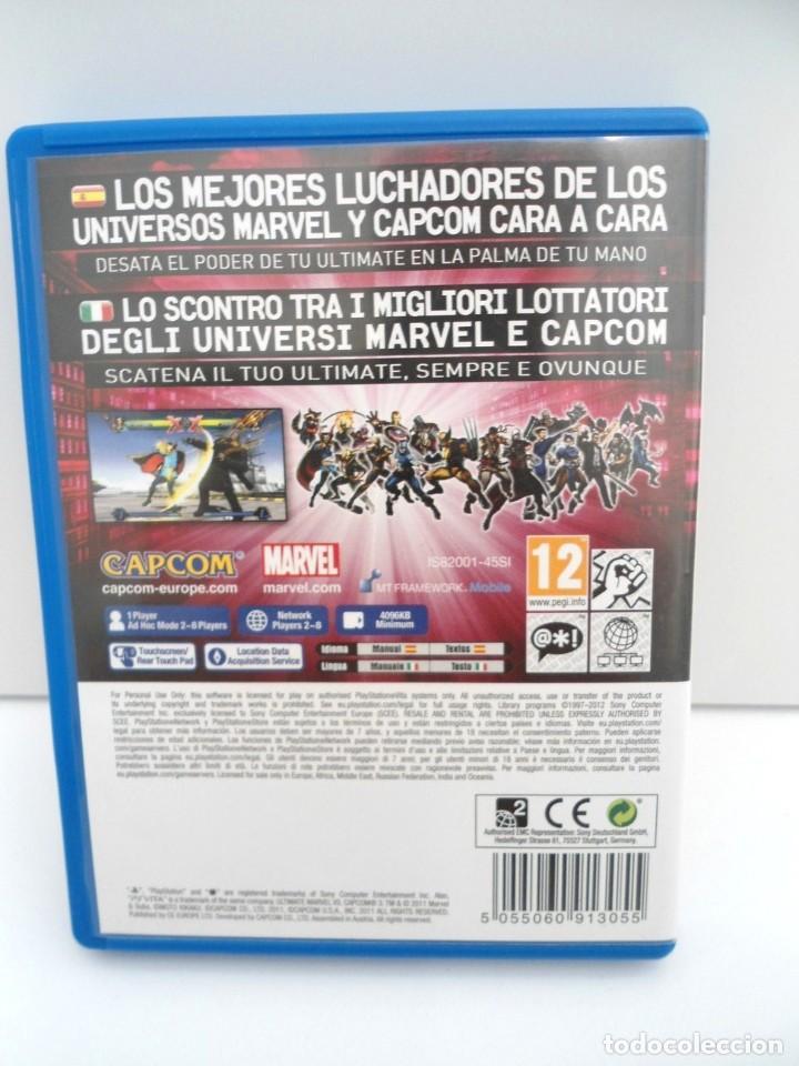 Videojuegos y Consolas PS Vita: ULTIMATE MARVEL VS CAPCOM 3 - PS VITA PSVITA - EXCELENTE ESTADO - Foto 4 - 219219387