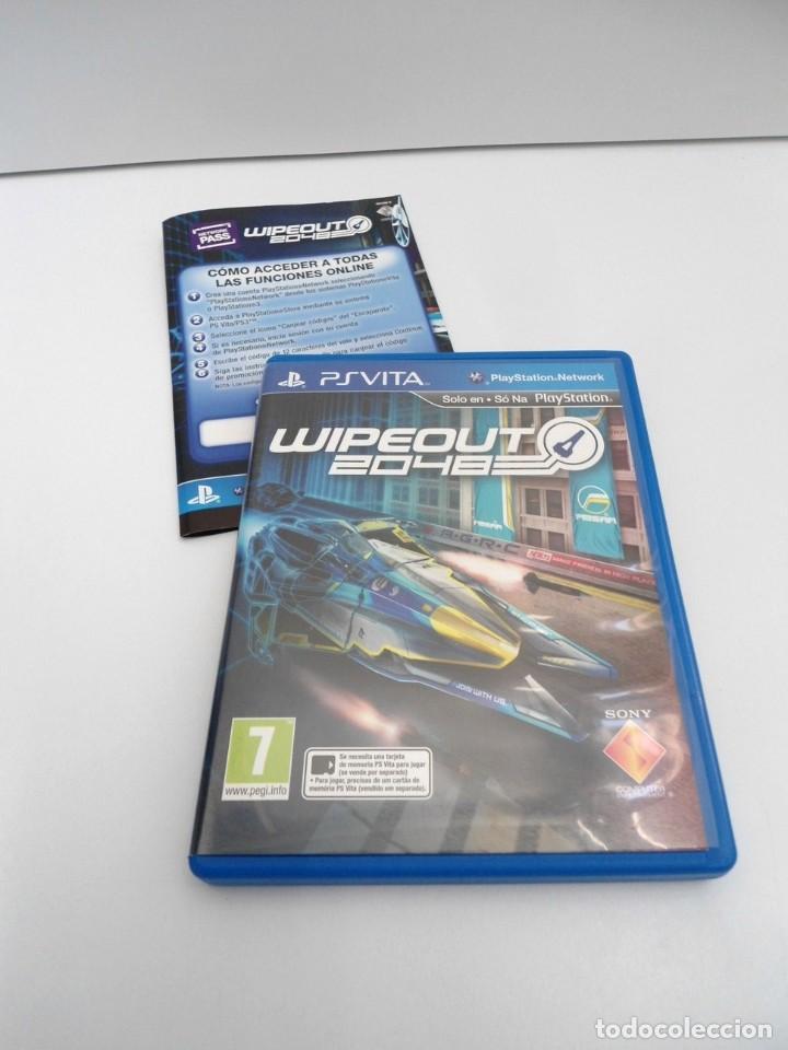 WIPEOUT 2048 - PS VITA PSVITA - EXCELENTE ESTADO (Juguetes - Videojuegos y Consolas - Sony - PS Vita)