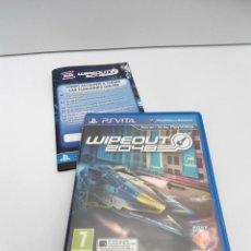 Videojuegos y Consolas PS Vita: WIPEOUT 2048 - PS VITA PSVITA - EXCELENTE ESTADO. Lote 219220223