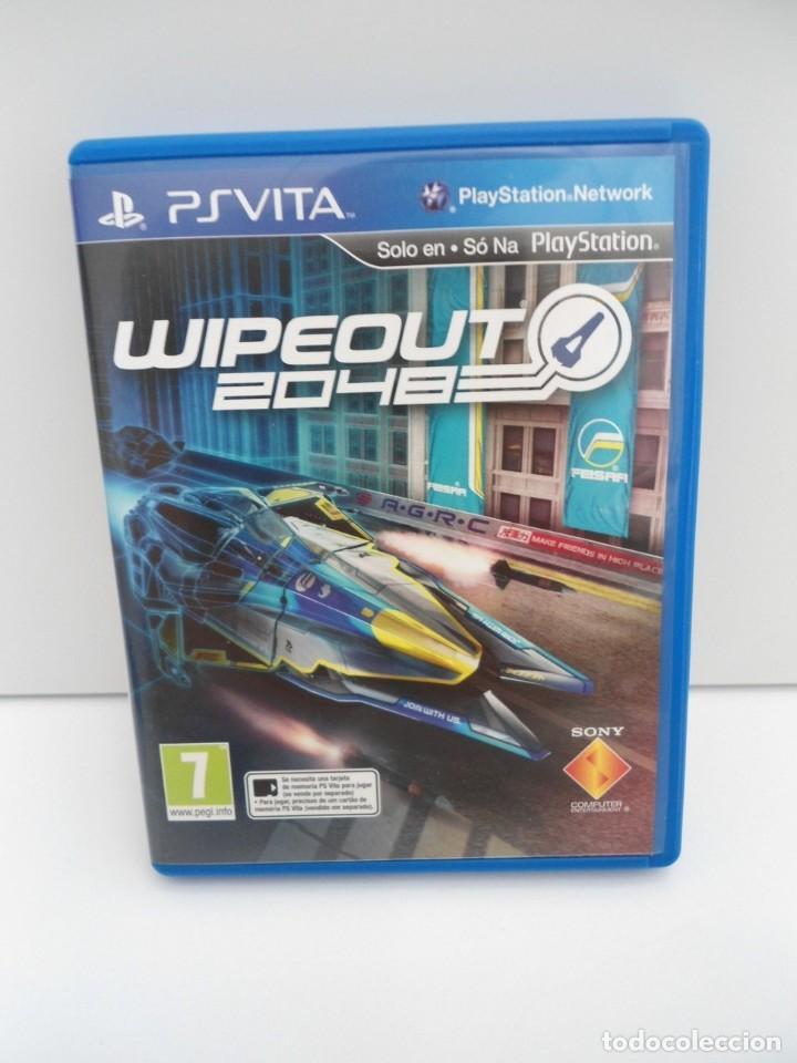 Videojuegos y Consolas PS Vita: WIPEOUT 2048 - PS VITA PSVITA - EXCELENTE ESTADO - Foto 2 - 219220223