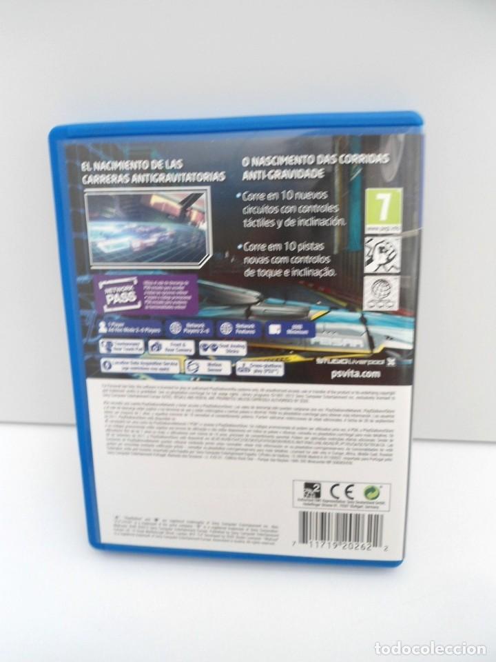 Videojuegos y Consolas PS Vita: WIPEOUT 2048 - PS VITA PSVITA - EXCELENTE ESTADO - Foto 5 - 219220223