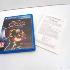 Videojuegos y Consolas PS Vita: NINJA GAIDEN SIGMA PLUS - PS VITA PSVITA - EXCELENTE ESTADO. Lote 219221677