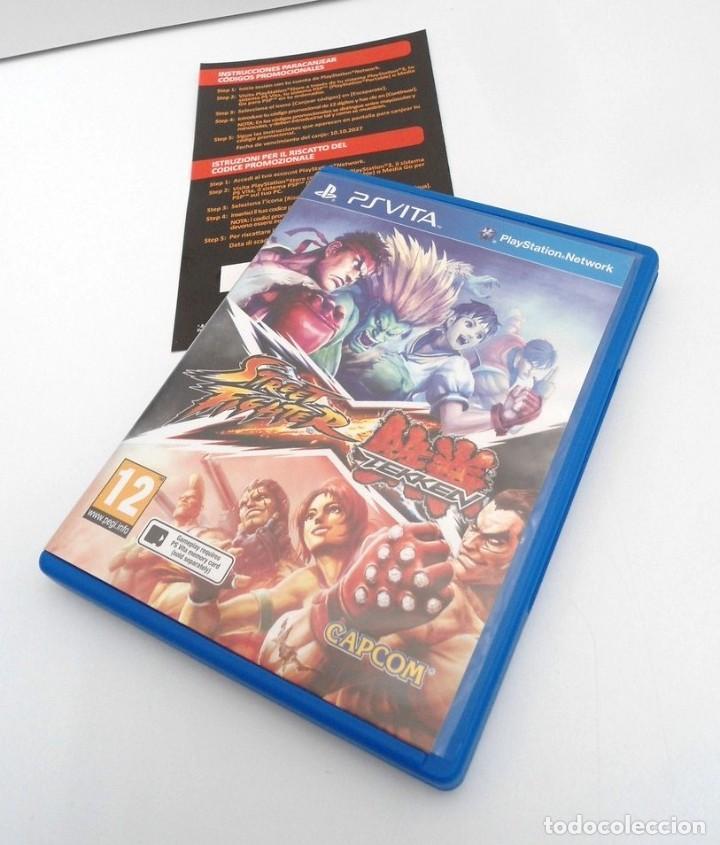 STREET FIGHTER X TEKKEN - PS VITA PSVITA - EXCELENTE ESTADO (Juguetes - Videojuegos y Consolas - Sony - PS Vita)