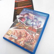 Videojuegos y Consolas PS Vita: STREET FIGHTER X TEKKEN - PS VITA PSVITA - EXCELENTE ESTADO. Lote 219222008