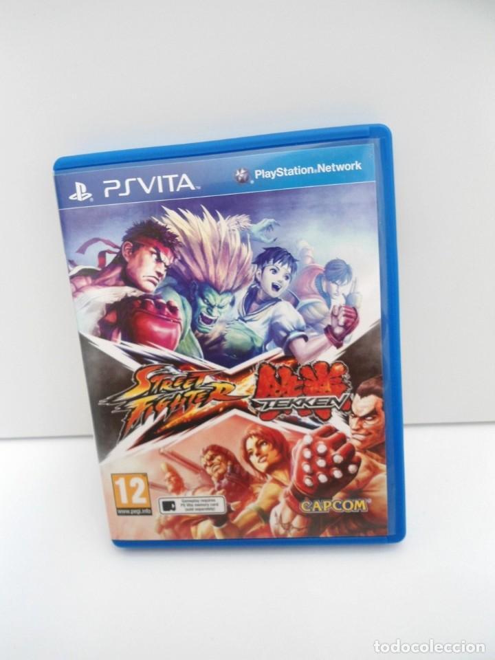 Videojuegos y Consolas PS Vita: STREET FIGHTER X TEKKEN - PS VITA PSVITA - EXCELENTE ESTADO - Foto 2 - 219222008