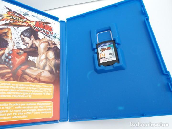 Videojuegos y Consolas PS Vita: STREET FIGHTER X TEKKEN - PS VITA PSVITA - EXCELENTE ESTADO - Foto 3 - 219222008