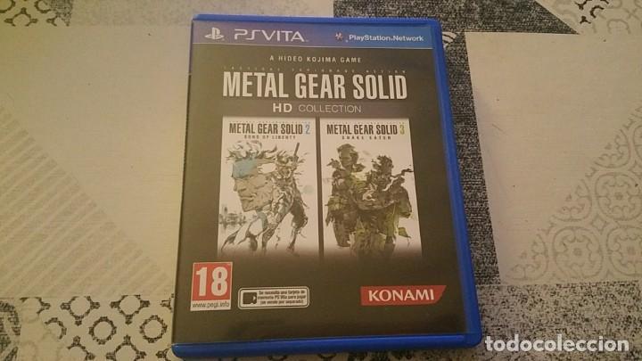 METAL GEAR SOLID 2 Y 3 HD COLLECTION PS VITA PAL ESPAÑA (Juguetes - Videojuegos y Consolas - Sony - PS Vita)