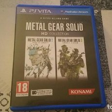 Videogiochi e Consoli: METAL GEAR SOLID 2 Y 3 HD COLLECTION PS VITA PAL ESPAÑA. Lote 219223412