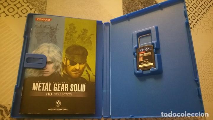 Videojuegos y Consolas PS Vita: METAL GEAR SOLID 2 Y 3 HD COLLECTION PS VITA PAL ESPAÑA - Foto 3 - 219223412