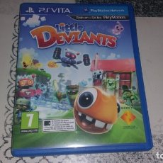 Videojuegos y Consolas PS Vita: LITTLE DEVIANTS PS VITA PAL ESPAÑA. Lote 219224092