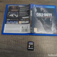 Videojuegos y Consolas PS Vita: PSVITA CALL OF DUTY BLACK OPS DESCLASSIFIED PAL ESP COMPLETO. Lote 219389766
