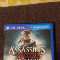 Videogiochi e Consoli: PSVITA PS VITA ASSASSINS CREED III LIBERATION SÓLO CARATULA. Lote 221705441