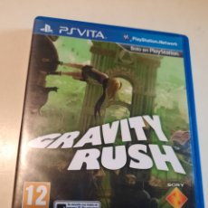 Videojuegos y Consolas PS Vita: GRAVITY RUSH PS VITA (PSVITA) PAL ESPAÑA. Lote 221808890