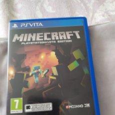 Videojuegos y Consolas PS Vita: MINECRAFT PS VITA. Lote 222138296