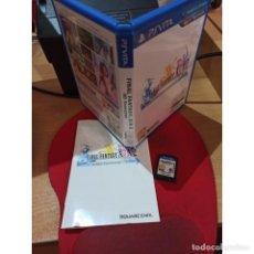Videojuegos y Consolas PS Vita: FINAL FANTASY X HD (PSV) - SEMINUEVO. Lote 222473651