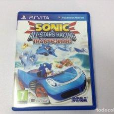 Videojuegos y Consolas PS Vita: SONIC ALL-STARS RACING TRANSFORMED. Lote 223272643
