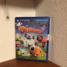 Videojuegos y Consolas PS Vita: LITTLE DEVIANTS NUEVO PRECINTADO SONY PLAYSTATION PS VITA PAL ESPAÑA. Lote 223528573