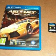 Videojuegos y Consolas PS Vita: ASPHALT INJECTION PARA SONY PSVITA / VITA , PAL. Lote 223648156