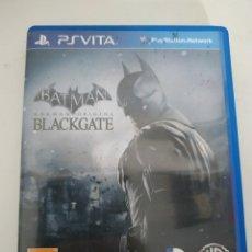Videojuegos y Consolas PS Vita: BATMAN ARKHAM ORIGINS BLACKGATE PS VITA. Lote 227827755