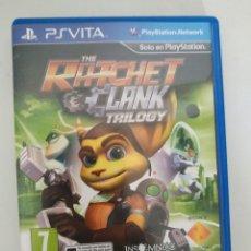 Videojuegos y Consolas PS Vita: RATCHET CLANK TRILOGY PSVITA PAL ESPAÑA. Lote 227828895