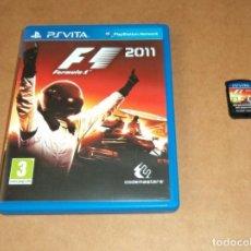 Videojuegos y Consolas PS Vita: F1 FORMULA 1 2011 PARA SONY PSVITA / VITA , PAL. Lote 227881555