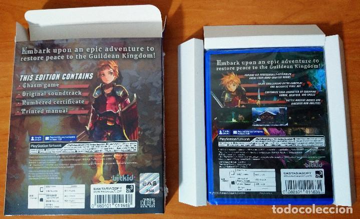 Videojuegos y Consolas PS Vita: CHASM PSVITA SONY PLAYSTATION VITA NUEVO - Foto 2 - 228933360