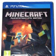Videojuegos y Consolas PS Vita: JUEGO PSVITA MINECRAFT NUEVO PRECINTADO PAL ESPAÑA. Lote 229728620