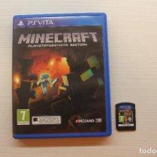 Videojuegos y Consolas PS Vita: MINECRAFT, PS VITA. Lote 231818645