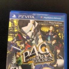 Videojuegos y Consolas PS Vita: PERSONA 4 GOLDEN PSVITA. Lote 233431280