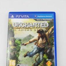 Videojuegos y Consolas PS Vita: UNCHARTED EL ABISMO DE ORO PSVITA. Lote 234551245