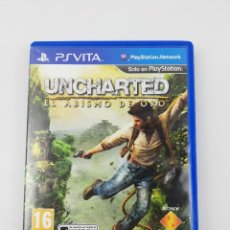 Jeux Vidéo et Consoles: UNCHARTED EL ABISMO DE ORO PSVITA. Lote 234551245