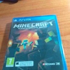 Videojuegos y Consolas PS Vita: JUEGO PSVITA MINECRAFT NUEVO PRECINTADO PAL ESPAÑA. Lote 236078650