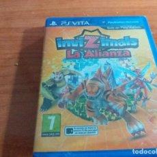 Videojuegos y Consolas PS Vita: INVIZIMALS, LA ALIANZA PSVITA PAL ESP PRECINTADO. Lote 236079635