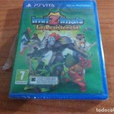 Videojuegos y Consolas PS Vita: NVIZIMALS: LA RESISTENCIA PS VITA PAL ESPAÑOL PRECINTADO. Lote 236080005