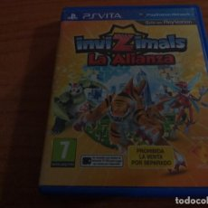 Videojuegos y Consolas PS Vita: INVIZIMALS LA ALIANZA PAL ESP PS VITA. Lote 236080310