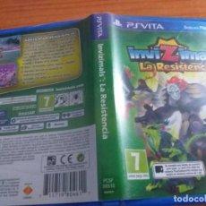 Videojuegos y Consolas PS Vita: INVIZILMALS LA RESISTENCIA. Lote 236081545