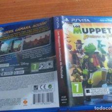 Videojuegos y Consolas PS Vita: LOS MUPPETS AVENTURAS DE POLICIA PS VITA PAL ESP. Lote 236081920