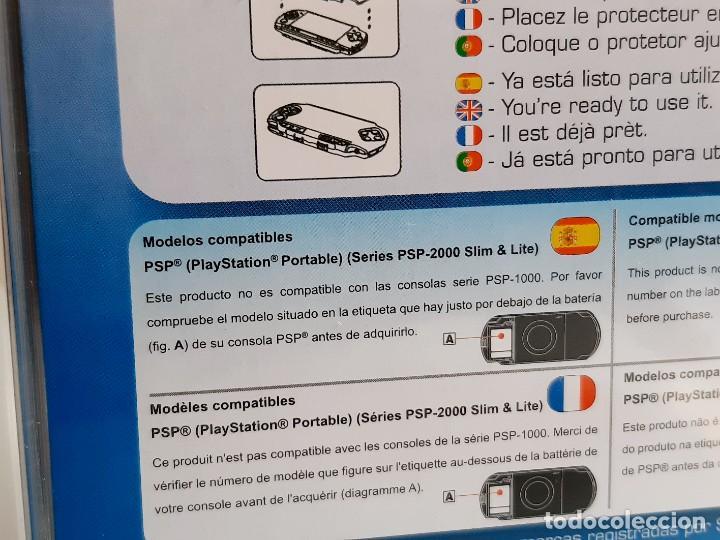 Videojuegos y Consolas PS Vita: DOS PROTECTORES DE PANTALLA RIGIDOS CONSOLA PSP, SLIM Y LITE NUEVOS EN BLISTER - Foto 4 - 280563853