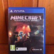 Videojuegos y Consolas PS Vita: PLAY STATION VITA /MINECRAFT PLAY STATION VITA EDITION PSVITA (COMO NUEVO). Lote 242062825